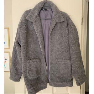Borg oversized jacket size 12